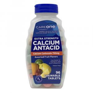 CareOne Extra Strength Calcium Antacid Assorted Fruit Flavor