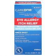 CareOne Eye Allergy Itch Relief Drops