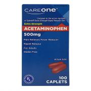 CareOne Extra Strength Acetaminophen Pain Relief