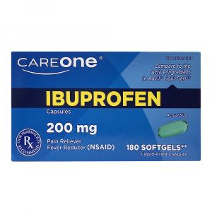 CareOne Ibruprofen Softgels 200 mg