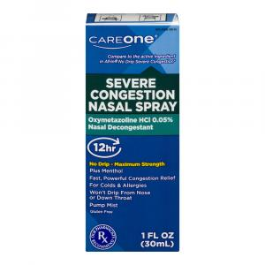 CareOne Severe Congestion Nasal Spray 30ml 12 Hour