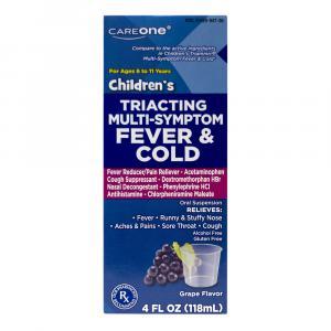 CareOne Children's Acetaminphen Multi Symptom Cold