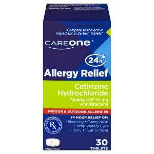 Careone Allergy Tablets 10mg