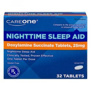 CareOne Nighttime Sleep-Aid Tablets