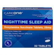 CareOne Nighttime Sleep-Aid Tablets