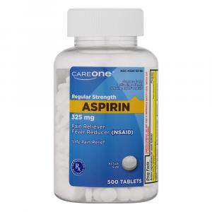 CareOne Aspirin Tablets 325 mg