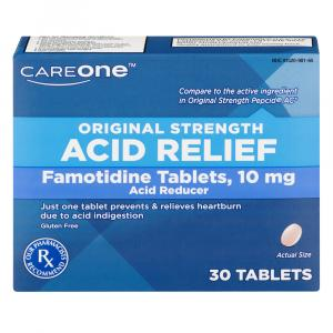 CareOne Famotidine Tablets 10 MG