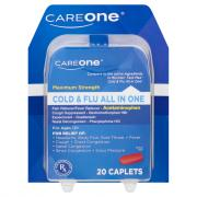 CareOne Mucus Relief Severe Congestion Caplets