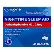 CareOne Nighttime Sleep-Aid Caplets