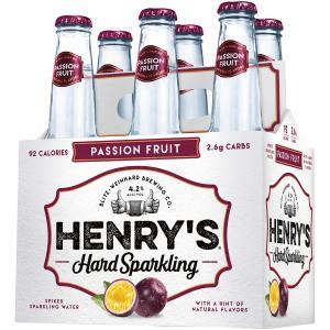 Henry's Hard Sparkling Passion Fruit