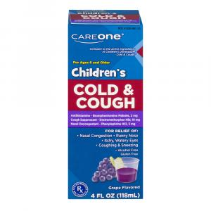 CareOne Children's Cold & Cough Grape Flavor