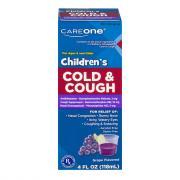 CareOne Children's Cold & Cough Grape Flavor