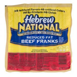 Hebrew National Reduced Fat Franks