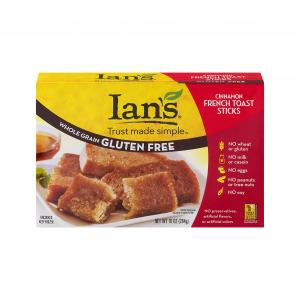 Ian's Gluten Free Cinnamon French Toast Sticks