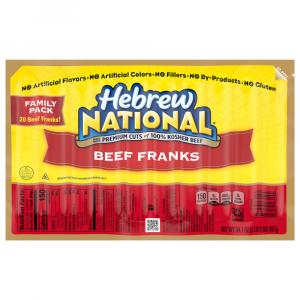 Hebrew National Family Pack Beef Franks
