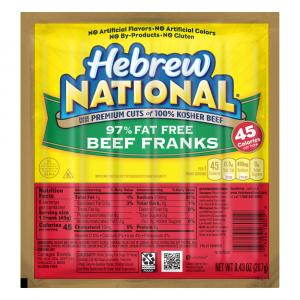 Hebrew National 97% Fat Free Franks