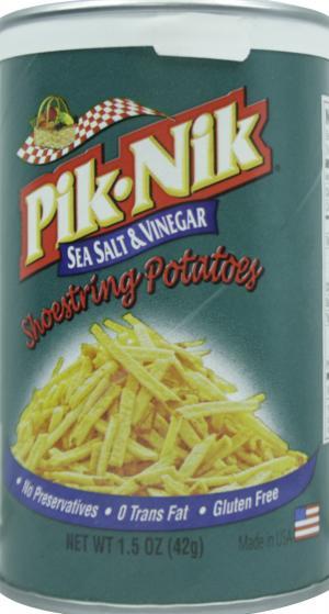 Pik-Nik Sea Salt & Vinegar Shoestring Potatoes
