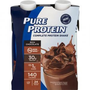 Pure Protein Rich Chocolate Shakes