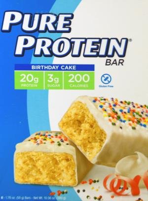 Pure Protein Birthday Cake Bars