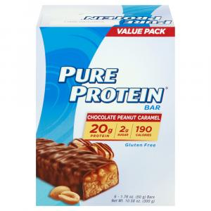 Pure Protein Value Pack Chocolate Peanut Caramel Bars