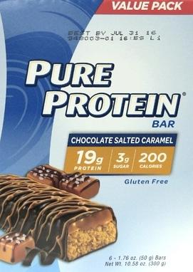 Pure Protein Value Pack Chocolate Salted Caramel Bars