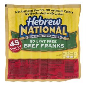 Hebrew National 97% Fat Free Franks