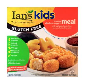 Ian's Kids Gluten Free Chicken Nuggets