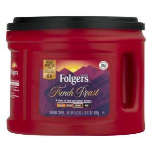 Folgers French Roast Medium Dark Coffee