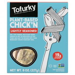 Tofurky Slow Roasted Chicken Tofu Lightly Seasoned