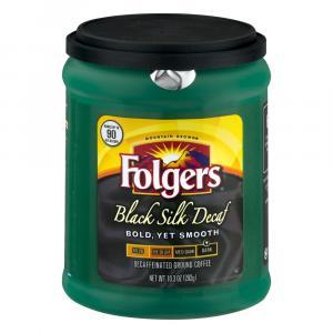 Folgers Black Silk Decaffinated Coffee