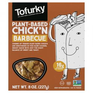Tofurky Barbeque Chick'n Tofu