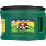 Folgers Decaf Ground Coffee Can