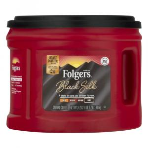 Folgers Black Silk Coffee