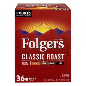 Folgers Classic Roast K-Cup Packs