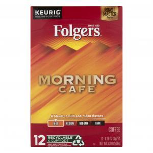 Folgers Gourmet Morning Cafe K-cups