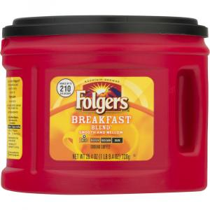 Folgers Breakfast Blend Smooth & Mellow Coffee