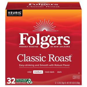 Folgers Classic Roast K-Cup Pods