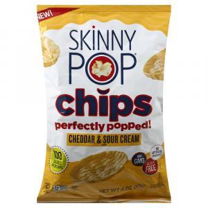 Skinny Pop Chips Cheddar & Sour Cream