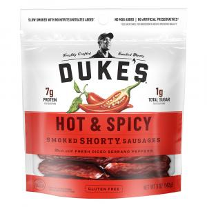 Duke's Hot & Spicy Shorty Smoked Sausages