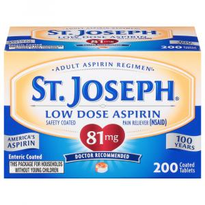 St. Joseph Enteric Coated Aspirin