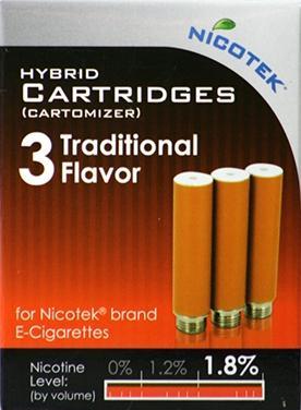 Nicotek Traditional 1.8% Refill Cartridge