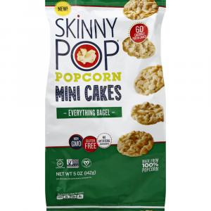 Skinny Pop Popcorn Mini Cakes Everything Bagel