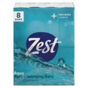 Zest Bath Size Aqua Bar Soap