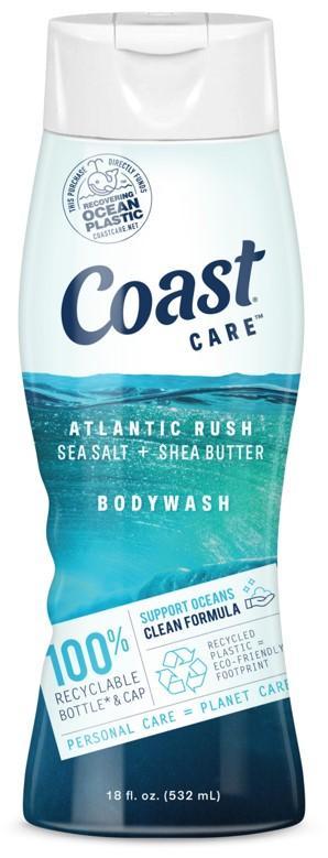 Coast Care Atlantic Rush Body Wash