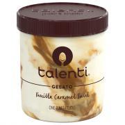 Talenti Vanilla Caramel Swirl Gelato