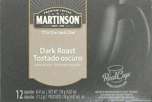 Martinson Dark Roast K-cups