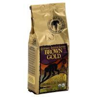 Brown & Gold Organic Quimbaya 100% Columbian Ground Coffee
