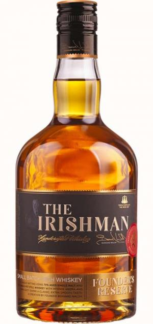 Irishman Founder's Reserve Whiskey