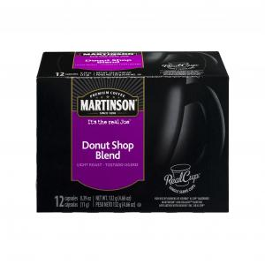 Martinson Donut Shop Coffee K-cups