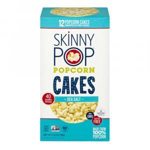 Skinny Pop Popcorn Cakes Sea Salt